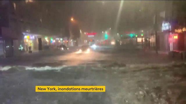 États-Unis : des inondations meurtrières à New York