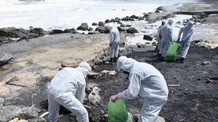 Sri Lanka : après l'incendie d'un cargo, les autorités s'inquiètent d'une catastrophe environnementale (FRANCEINFO)