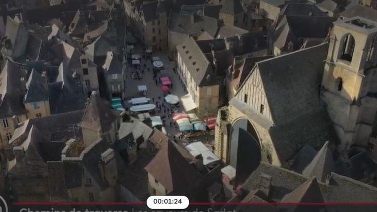Sarlat (Capture d'écran France 2)
