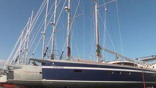 Economie : la filière nautique a le vent en pourpre (France 3)