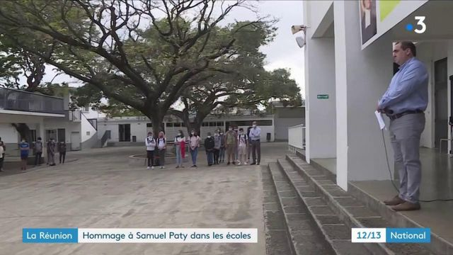 La Réunion : hommage à Samuel Paty dans les écoles