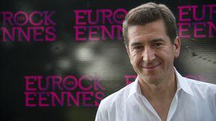 Matthieu Pigasse prend la présidence des Eurockéennes  (Sébastien Bozon / AFP)