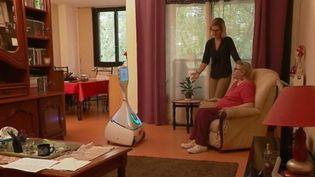 "Le robot ""Cutii"". (FRANCE 3)"