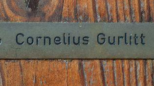 La porte de la maison de Cornelius Gurlitt à Salzbourg (Autriche)  (Wildbild/AFP)