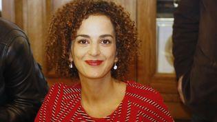 """Leila Slimani, prix Goncourt et auteure francophone la plus lue en 2016 avec son roman """"Chanson douce""""  (François Mori / AP / SIPA)"""