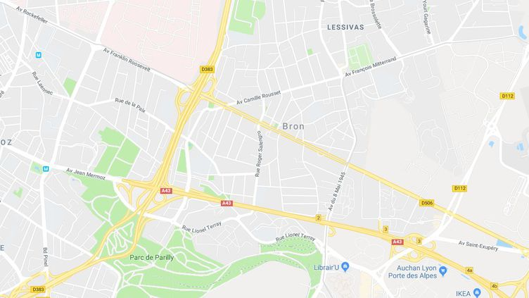 L'enfant a été agressé à Bron (Rhône), dans la banlieue de Lyon. (GOOGLE MAPS)