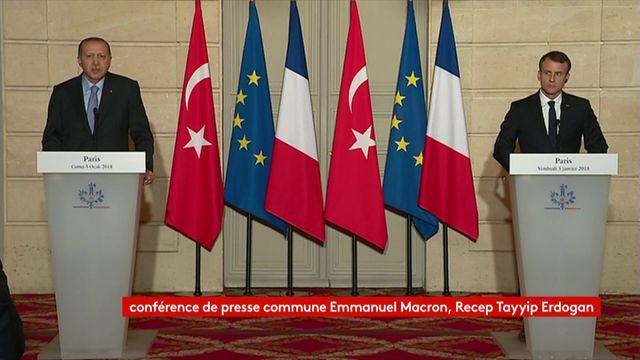 """Erdogan s'agace après une question d'un journaliste d'""""Envoyé spécial"""""""