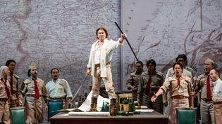 Roberto Alagna est Le Cid à l'Opéra Garnier, jusqu'au 21 avril 2015.  (Agathe Poupeney/Opéra national de Paris)