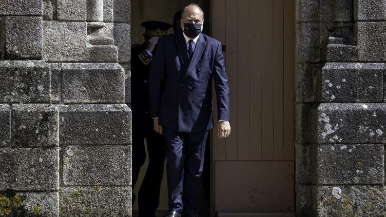 Le ministre de la Justice Eric Dupont-Moretti à Saint-Laurent-sur-Sèvre (Vendée), le 13 août 2021. (ESTELLE RUIZ / HANS LUCAS / AFP)
