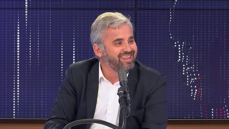 Alexis Corbière, invité de franceinfo, le 1er juillet 2020. (FRANCEINFO / RADIO FRANCE)