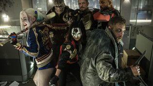 """Les héros de """"Suicide Squad"""", dont la sortie au cinéma est prévue pour août 2016. (WARNER BROS FRANCE)"""