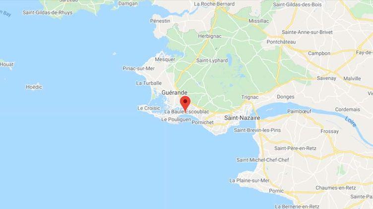 La Baule (Loire-Atlantique). (GOOGLE MAPS)