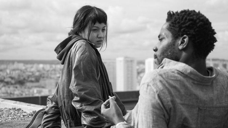Emilie (Lumina Wang) et Camille (Makita Samba), colocataires et amants, vont voir leurs sentiments évoluer tout le long du film. (Shanna Besson)
