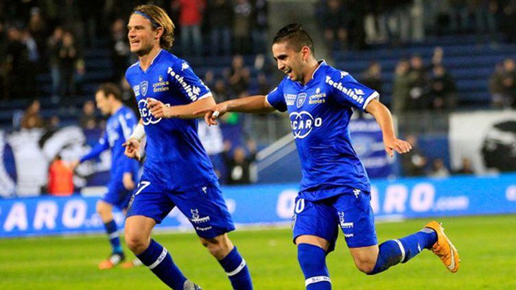 Ryad Boudebouz (Sporting Club de Bastia) (PASCAL POCHARD CASABIANCA / AFP)