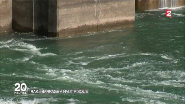 Irak : le barrage de Mossoul pourrait céder et provoquer une catastrophe