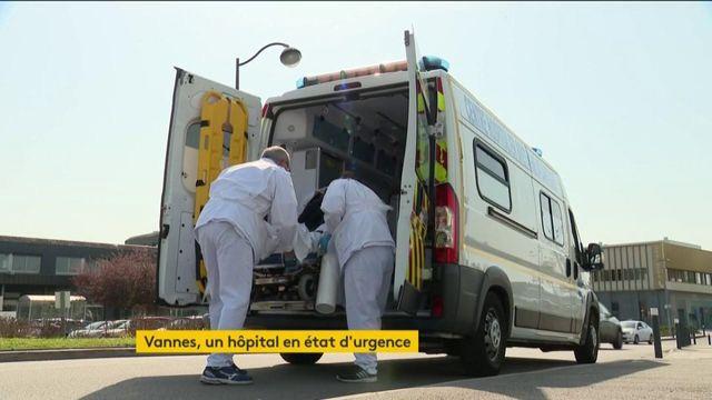 Coronavirus : état d'urgence à l'hôpital de Vannes