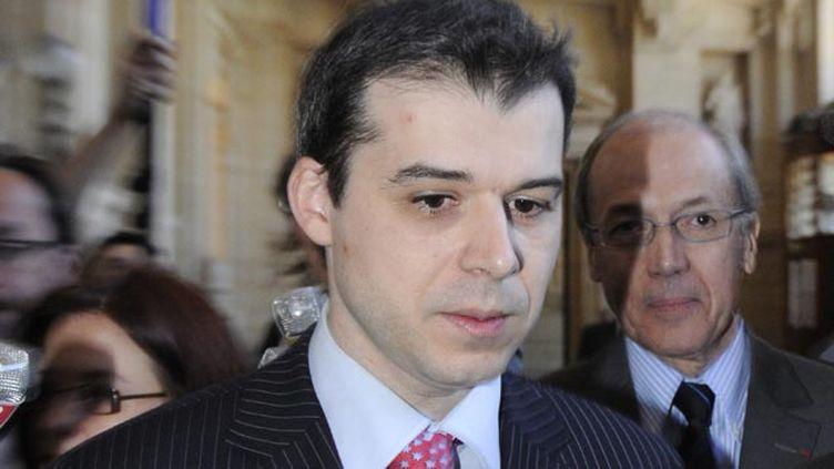 (Fabrice Burgaud, ici en 2009 au Conseil supérieur de la Magistrature, a témoigné ce vendredi dans l'affaire Daniel Legrand © MaxPPP)