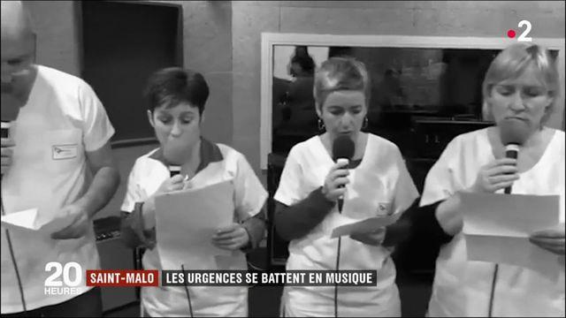 Saint-Malo : les urgences se battent en musique