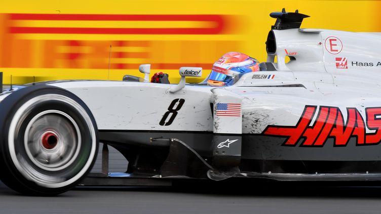 Romain Grosjean avait marqué les premiers points de Haas dès le GP d'Australie l'an passé. (PAUL CROCK / POOL)