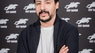 Le cinéaste tunisien Mehdi Barsaoui au Festival international du film francophone de Namur (du 28 septembre au 4 octobre 2019), en Belgique. (ANDY TIERCE/FIFF Namur)