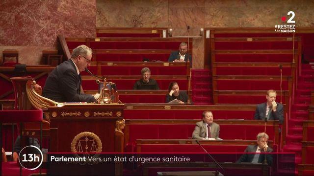 Etat d'urgence sanitaire : une séance parlementaire inhabituelle