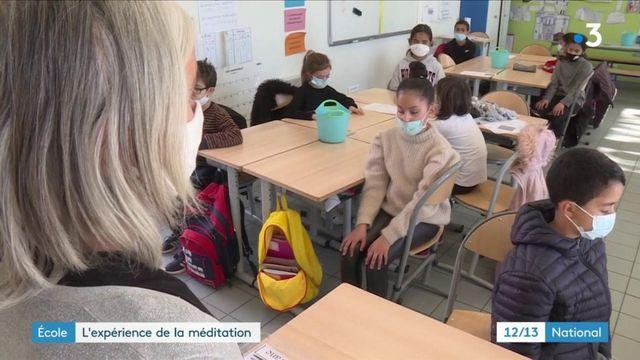 École : des élèves initiés à la méditation de pleine conscience