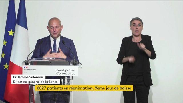 Coronavirus : un bilan en baisse en France