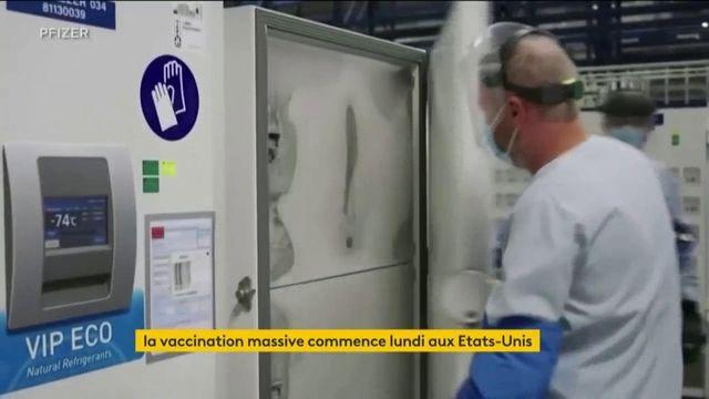 Coronavirus : les USA prêts à vacciner