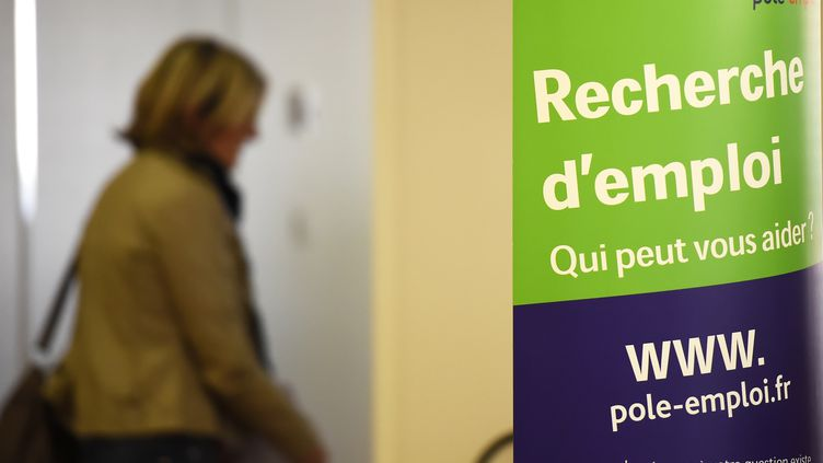 Photo prise le 27 avril 2016 sans une agence Pôle emploi de Montpellier (Hérault).            (PASCAL GUYOT / AFP)