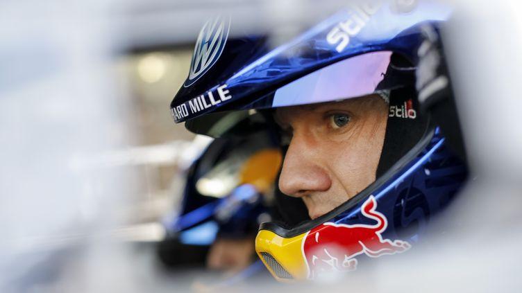 Sébastien Ogier est désormais seul à la poursuite de Sébastien Loeb (BASTIEN BAUDIN / AUSTRAL)