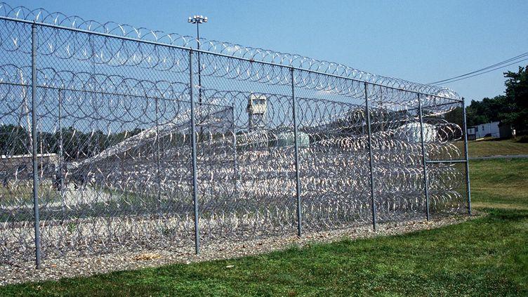 La prison d'Otisville, dans l'Etat de New York. (MANTEL / SIPA)