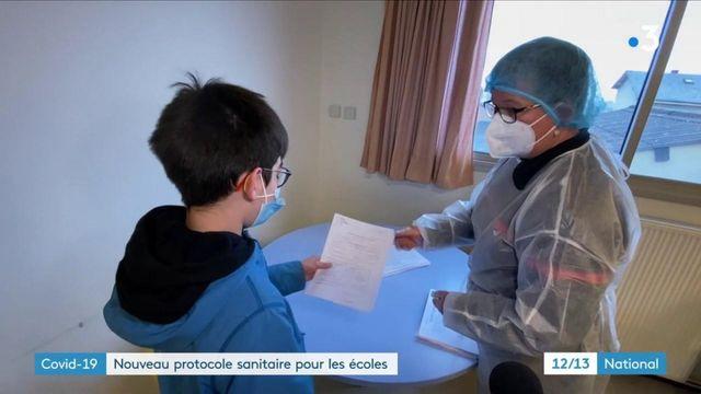 Covid-19 : un nouveau protocole sanitaire imposé aux écoles