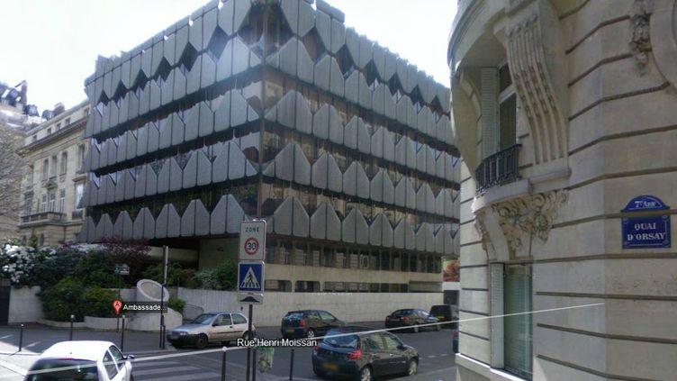 L'ambassade d'Afrique du Sud à Paris. (GOOGLEMAPS / FTVI)