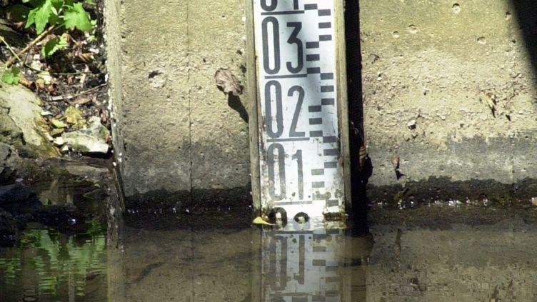 Le niveau de l'Iton, dans l'Eure, le 11 mai 2011. (Photo d'illustration) (MAXPPP)