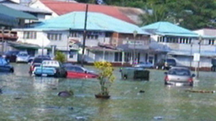Les îles samoa ont été dévastées par un tsunami, le 29 septembre 2009. (© France 2)