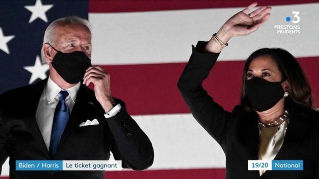 Présidentielle américaine : Joe Biden/Kamala Harris, un duo gagnant