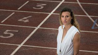 Ophélie Claude-Boxberger est suspendue 2 ans pour dopage. (SEBASTIEN BOZON / AFP)