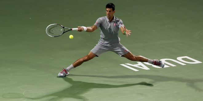 Novak Djokovic en extension