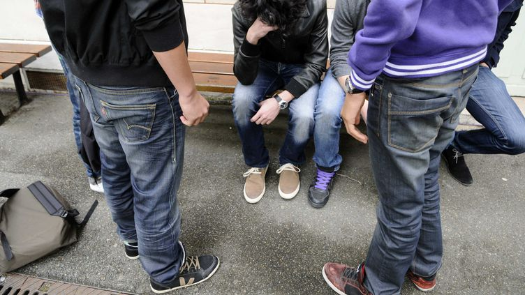 Les réseaux sociaux ont été interpellés à plusieurs reprises sur la montée du cyberharcèlement chez les adolescents. (DURAND FLORENCE / SIPA)