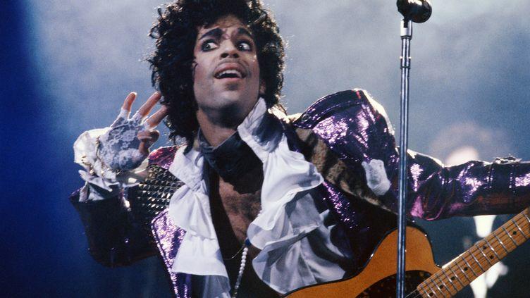 Le chanteur Prince est décédé en avril 2016 (image extraite du film Purple Rain). (AMERICAN PICTORIAL / MAXPPP)