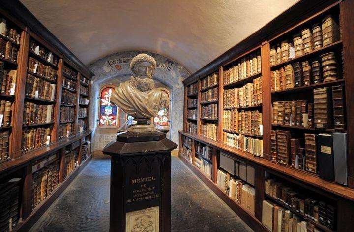 Bibliothèque humaniste de Sélestat  (PATRICK HERTZOG / AFP)