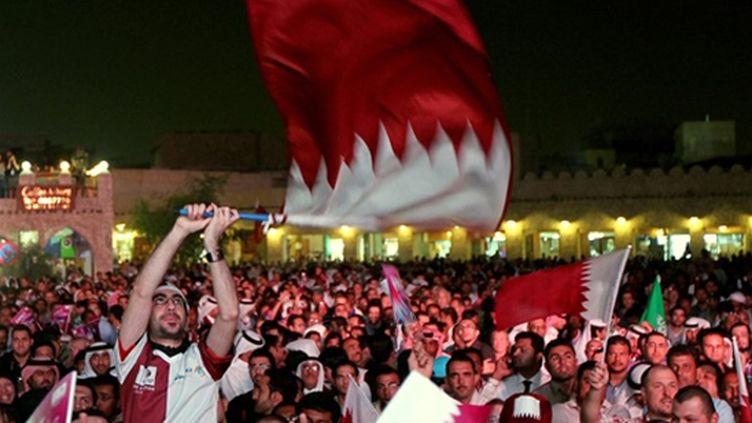 Le Qatar en joie