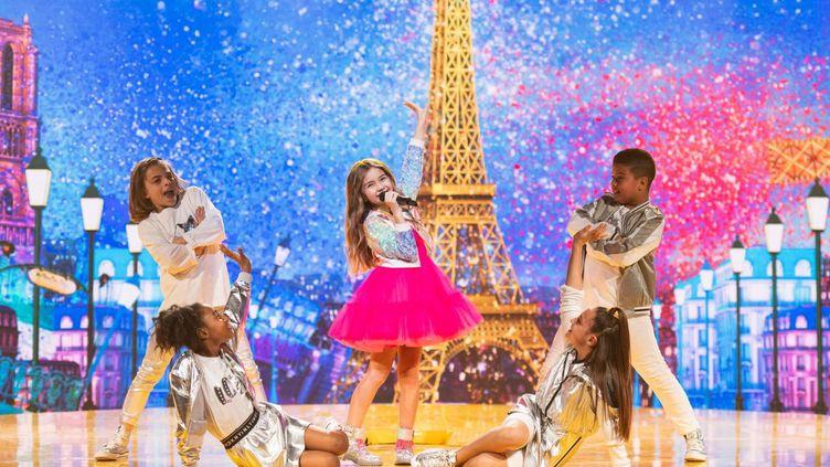 Valentina, la représentante de la France à l'Eurovision junior. (EUROVISION JUNIOR)