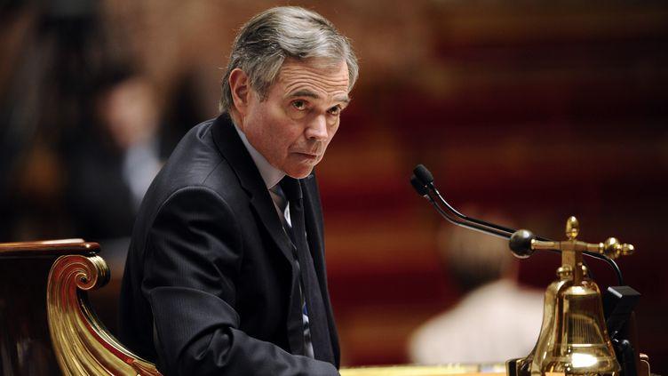 Le président de l'Assemblée nationale, le 20 décembre 2011. (MIGUEL MEDINA / AFP)