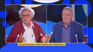 Benjamin Coriat et Daniel Schertzer (FRANCEINFO)