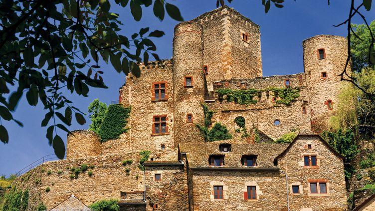 Le village de Belcastel (Aveyron). (LOU AVERS / PICTURE ALLIANCE)