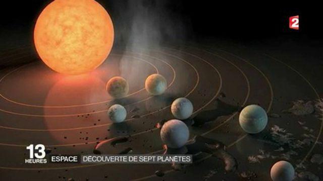 Espace : la Nasa annonce la découverte de sept planètes