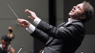 Le Boléro de Ravel dirigé par le chef d'orchestre Fayçal Karoui , Folle journée de Nantes, février 2013  (FRANK PERRY / AFP)