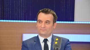 Florian Philippot,vice-président du Front national. (RADIO FRANCE / JEAN-CHRISTOPHE BOURDILLAT)