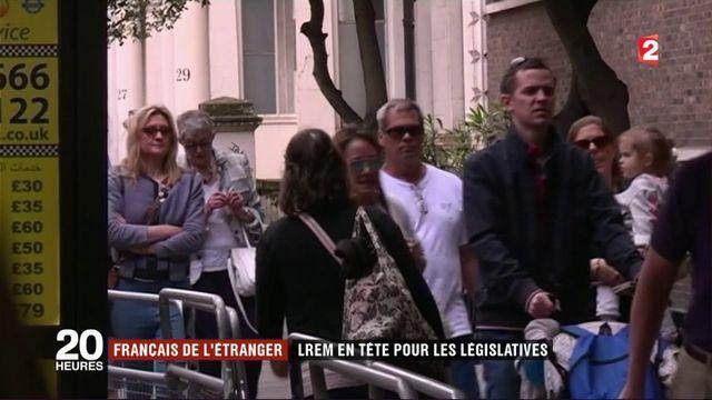 Français de l'étranger : La République En Marche en tête pour les législatives